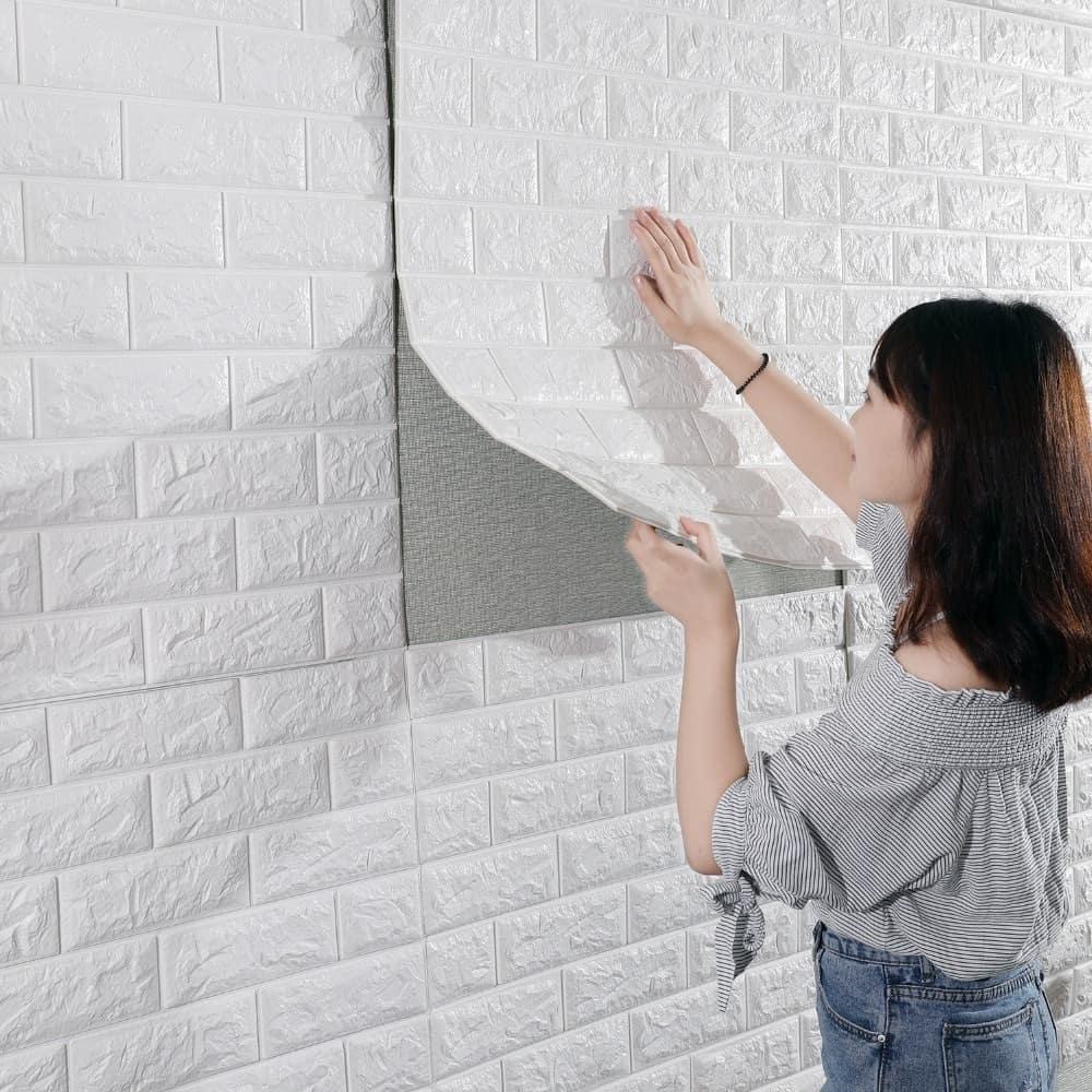 3D Brick Wallpaper Wall Stickers