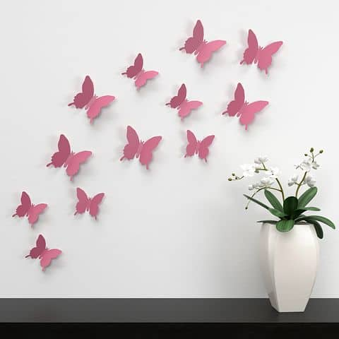 3-D Wall Stickers: Wall Decoration Ideas You Must Know About