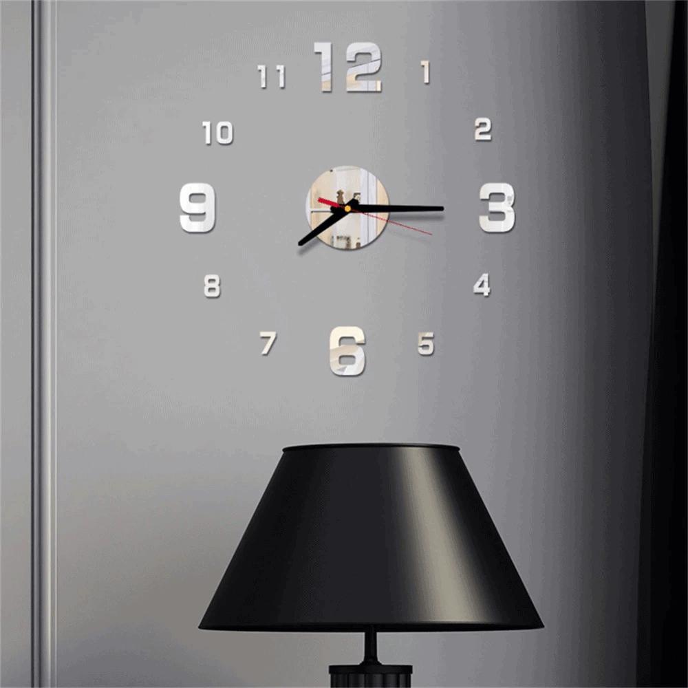 Large 3d Wall Clock Design