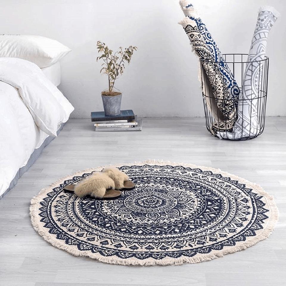Classic Bohemian Round Carpet