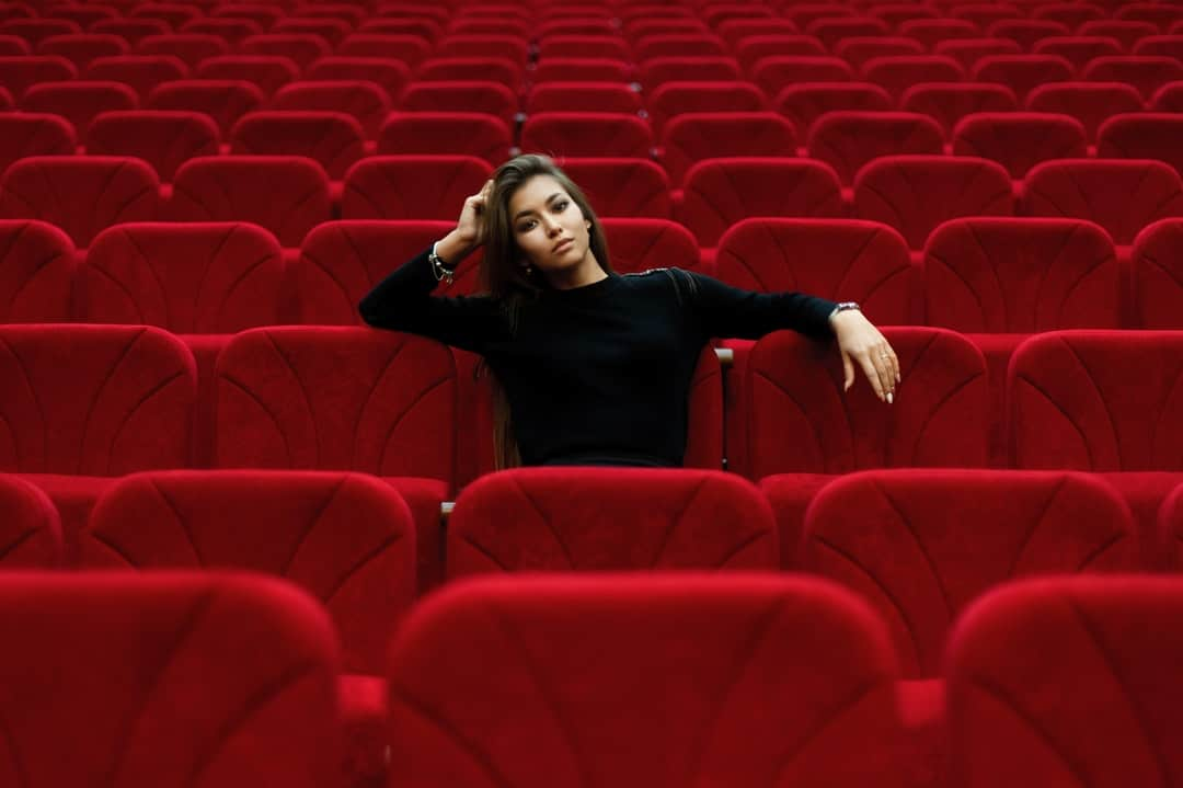 Wendy Valdez sitting on a chair